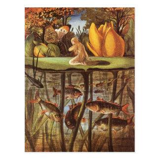 Vintage Thumbelina Fairy Tale Eleanor Vere Boyle Postcard