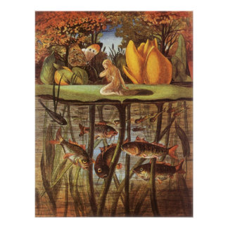 Vintage Thumbelina Fairy Tale Eleanor Vere Boyle Posters