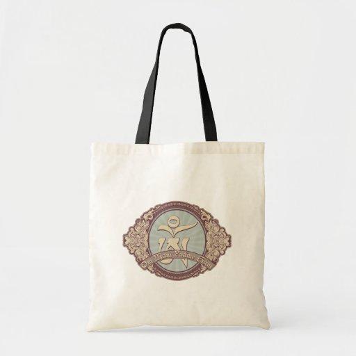 Vintage Tibetan OM Logo Tote Bag