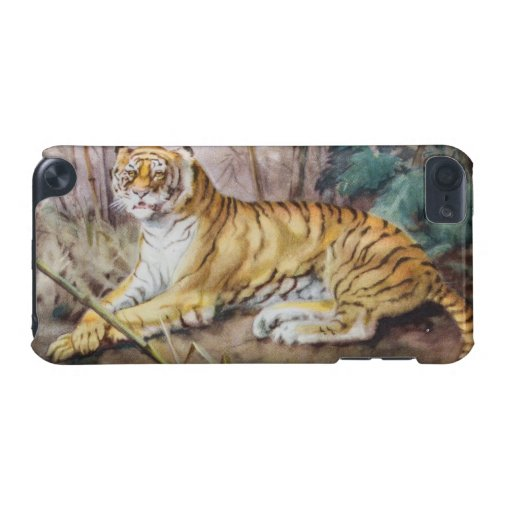 Vintage Tiger In The Jungle iPod Touch 5G Cover