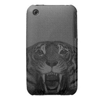 Vintage Tiger Iphone 3 Case