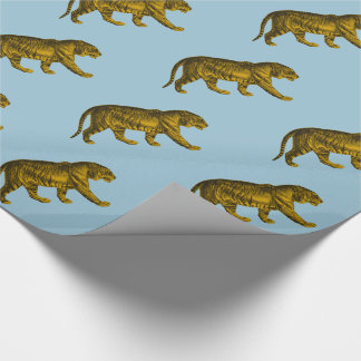 Vintage Tiger Wrapping Paper