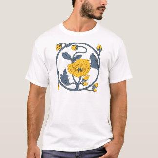 Vintage Tile Design Arts and Crafts Art Nouveau T-Shirt
