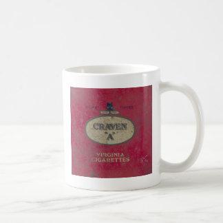 Vintage Tin Coffee Mug