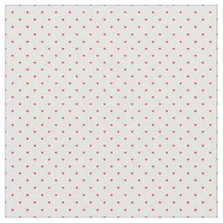 Vintage Tiny Little Hearts Fabric