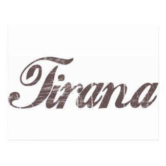 Vintage Tirana Postcard