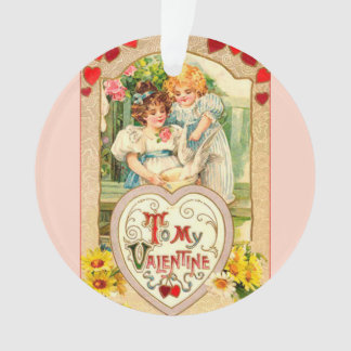 Vintage To My Valentine Ornament