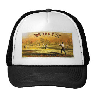 Vintage Tobacco Ad On The Fly 1867 Hat