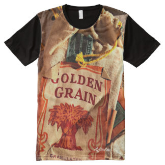 Vintage Tobacco Pouch! TSHIRT All-Over Print T-Shirt