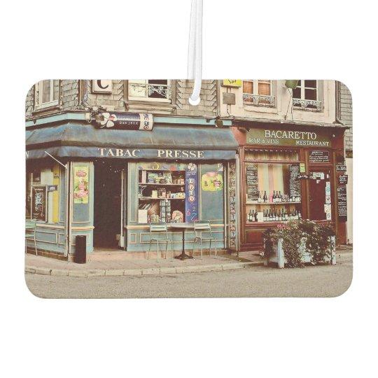 Vintage tobacco shop, wine bar in France Normandy