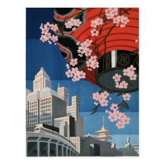 Vintage Tokyo travel Post Cards