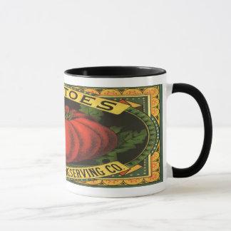 Vintage Tomato Label Mug