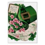 Vintage Top O The Mornin' St. Patrick's Day Card