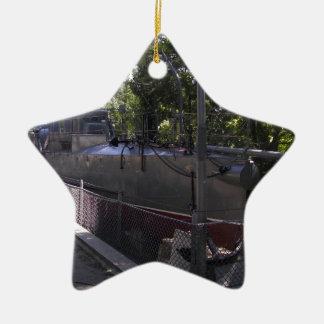 Vintage Torpedo Boat Christmas Ornament