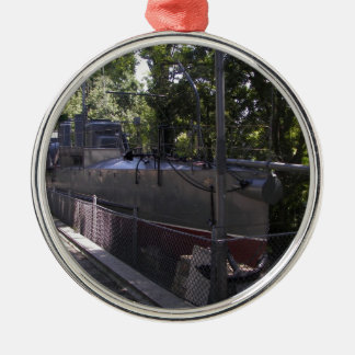 Vintage Torpedo Boat Christmas Ornament