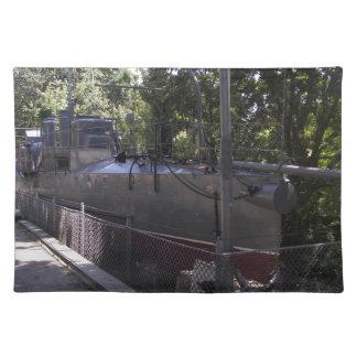 Vintage Torpedo Boat Placemat