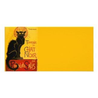 Vintage Tournée Du Chat Noir Theophile Steinlen Photo Card Template
