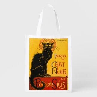 Vintage Tournée Du Chat Noir Theophile Steinlen Reusable Grocery Bag