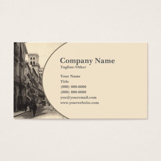 Vintage Town Business Card