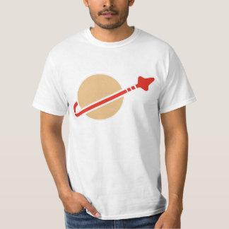 Vintage Toy Brick Space Astronaut Symbol T-Shirt