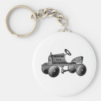 Vintage Toy Pedal Car Keychains