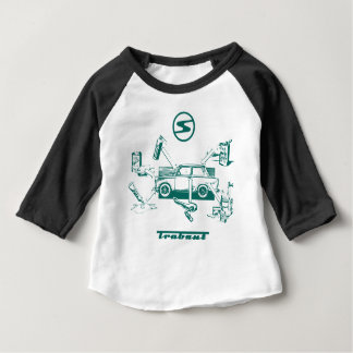 Vintage trabant baby T-Shirt