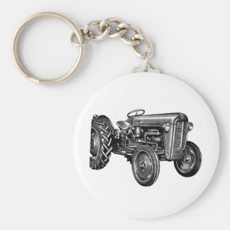 Vintage Tractor Key Ring