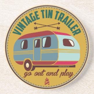 Vintage trailer / vintage camper mugs, gifts, etc! drink coaster