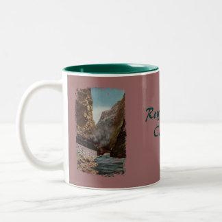 Vintage Train in Royal Gorge Coffee Mug