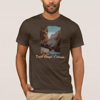 Vintage Train in Royal Gorge Men's Shirt