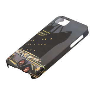 Vintage Transportation, Antique Car Cruise Ship iPhone 5 Covers