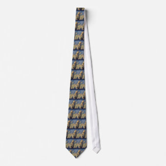 Vintage Transportation, Clipper Ships at Sea Tie