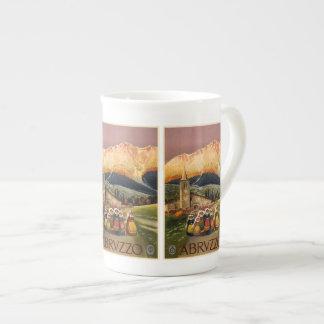 Vintage Travel Abrvzzo Italy mugs