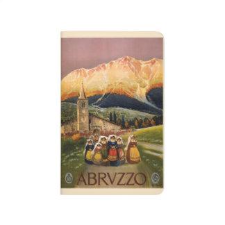 Vintage Travel Abrvzzo Italy pocket journal