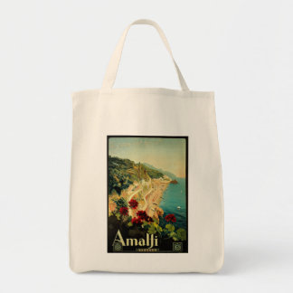 Vintage Travel, Amalfi Italian Coast Beach