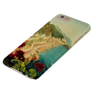 Vintage Travel, Amalfi Italian Coast Beach Barely There iPhone 6 Plus Case