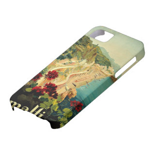 Vintage Travel, Amalfi Italian Coast Beach Case For The iPhone 5