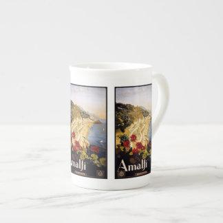 Vintage Travel Amalfi Italy mugs