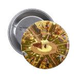 Vintage Travel, Arc de Triomphe Paris France 6 Cm Round Badge