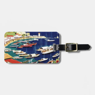 Vintage Travel Athens Greece Luggage Tag