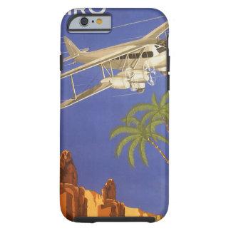 Vintage Travel Cairo Egypt Africa Aeroplane Tough iPhone 6 Case
