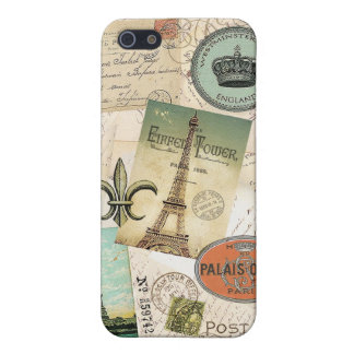 Vintage Travel collage iphone5 case iPhone 5/5S Covers