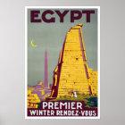 Vintage travel,Egypt Poster