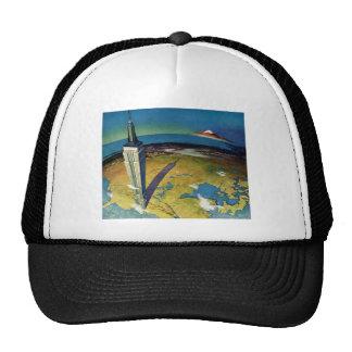 Vintage Travel Empire State Building New York City Cap
