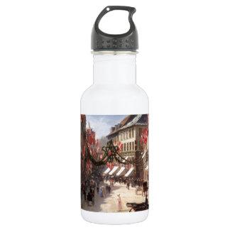 Vintage Travel Flag Day Denmark 532 Ml Water Bottle