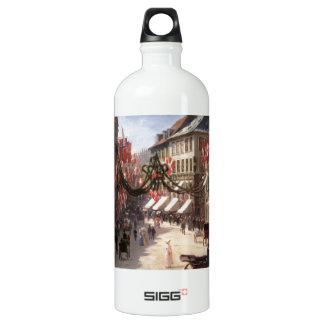 Vintage Travel Flag Day Denmark SIGG Traveller 1.0L Water Bottle