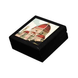 Vintage Travel Florence Firenze Italy Church Duomo Gift Box