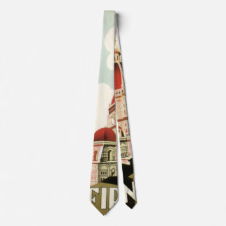 Vintage Travel Florence Firenze Italy Church Duomo Tie
