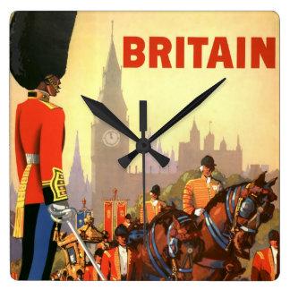 Vintage Travel, Great Britain England, Royal Guard Clocks