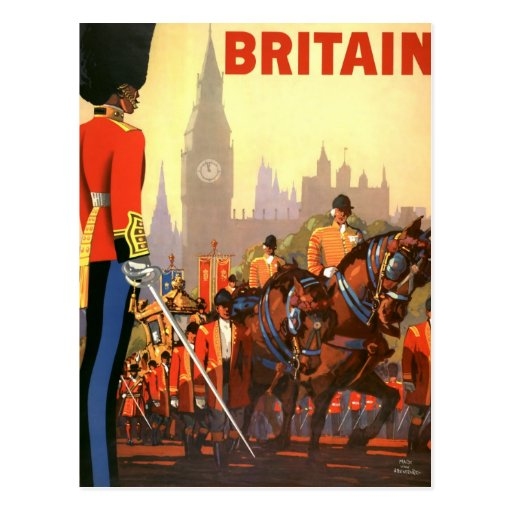 Vintage Travel, Great Britain England, Royal Guard Post Cards